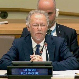Fernand de Varennes ONU