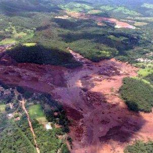trencament presa brasil - efe