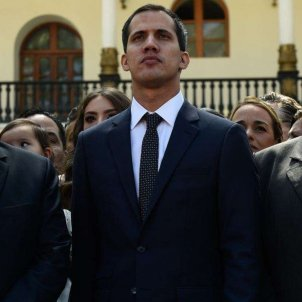 Edgar Zambrano, Juan Guaido, Stalin Gonzalez (Voice of America)