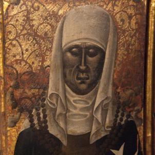 Mor Isabel d'Aragó, la candidata femenina al Compromís de Casp rebutjada per la seva condició de dona. Caixa sepulcral d'Isabel d'Aragó. Font Viquipedia