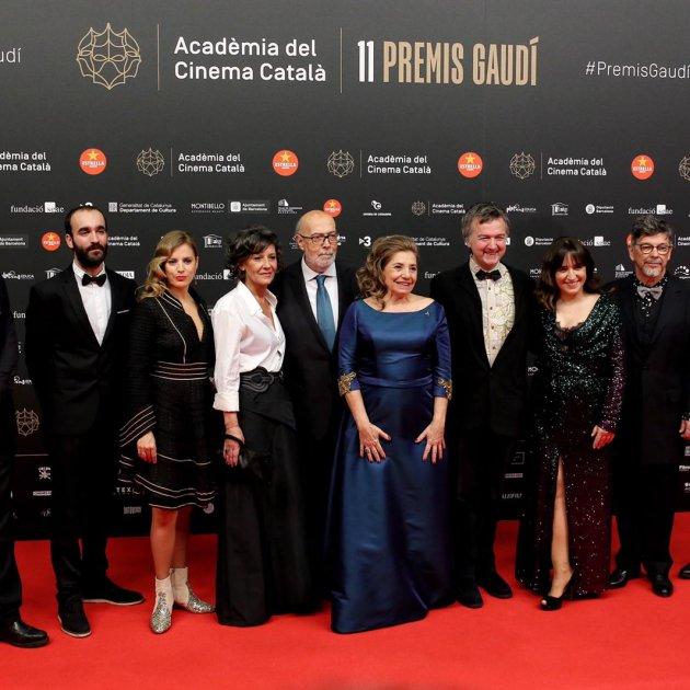 EL NACIONAL premis Gaudí alfombra vermalla Isona Passola   Carles Palacio