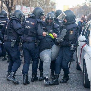 taxistes madrid paseo de la castellana europa press