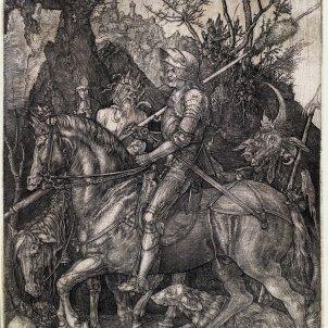 El cavaller, la mort i el diable, 1513 Dürer Renaixement Reial Cercle Artístic