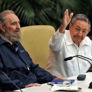 Fidel Castro Raul Castro Efe