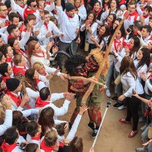 Mil dimonis Festes de Sant Antoni (Capdepera, Mallorca). Autor José Juan Luna Potti.