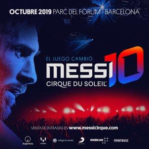 Messi10 Messi Cirque du Soleil