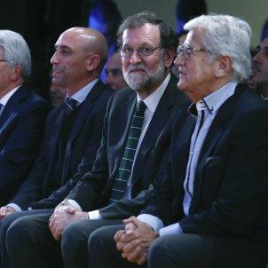 Mariano Rajoy Enrique Cerezo Luis Rubiales Pep Domingo Castaño EFE