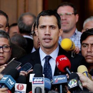 Juan guaido Venezuela - efe