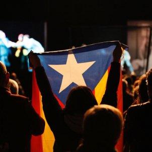 EL NACIONAL estelada final acte junqueras sant jordi - sergi alcazar