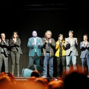 Junqueras conferència 29 de gener holograma - Sergi Alcàzar