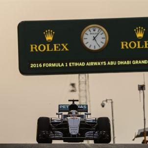 Hamilton F1 Abu Dhabi EFE
