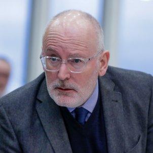 Frans Timmermans vicepresident Comissió Europea EFE