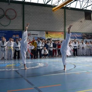 Taekwondo Escola Sant Esteve Sesrovires Foto Javier Sánchez Vesperina