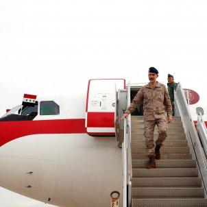 felip VI bandera irak - efe