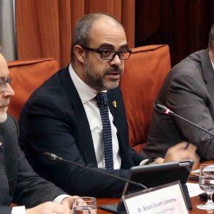 Miquel Buch compareixença Parlament - Parlament