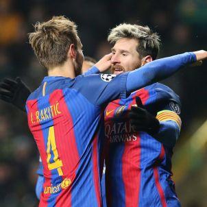 Rakitic Messi Barça Efe