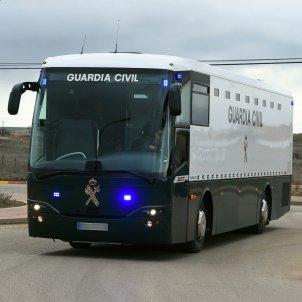 Autobus trasllat presos Alcalá-Meco - Efe