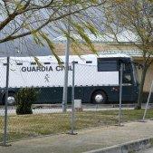 Autobús trasllat presos madrid soto del Real - Efe