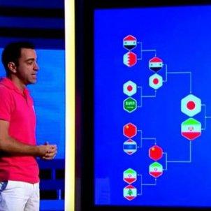 Xavi Hernandez Copa Asia Captura pantalla