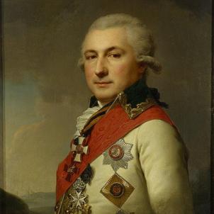 Retrat de Josep de Ribas. Museu Hermitage. Sant Petersburg