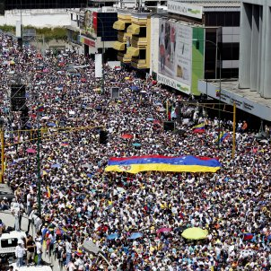 Opositors veneçolans mani contra Maduro EFE