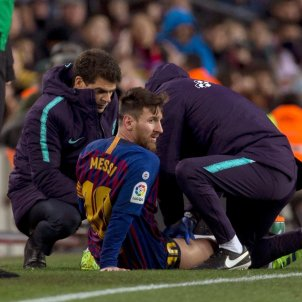 Messi Barca Valencia EFE