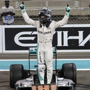 Nico Rosberg Formula 1 Abu Dhabi EFE