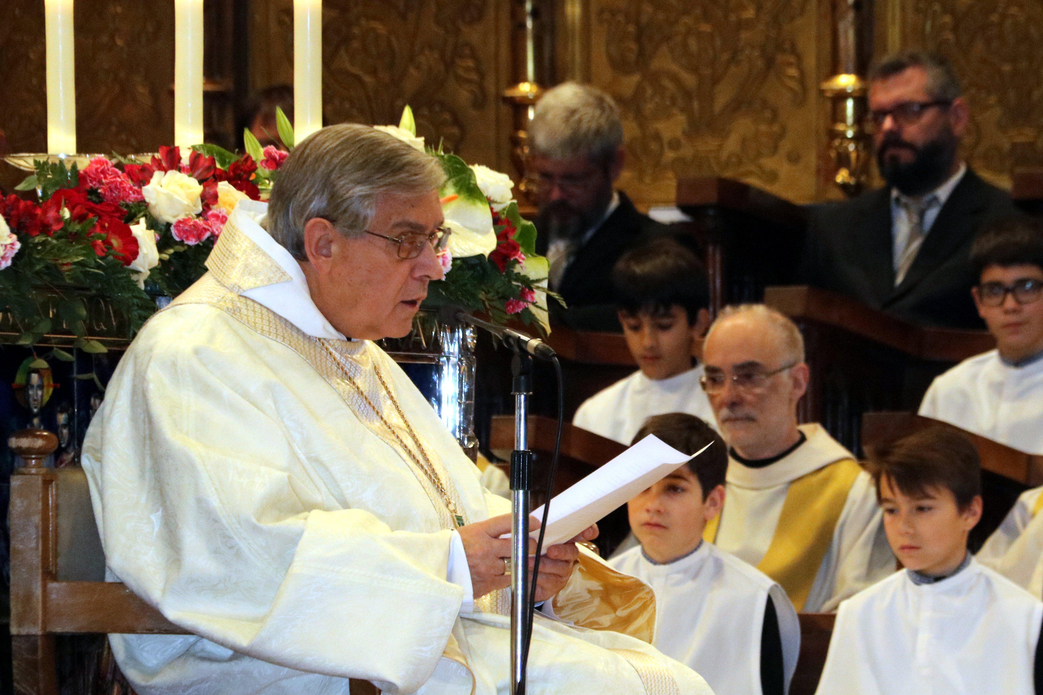pare abat de Montserrat Josep Maria Soler ACN