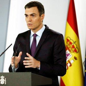 Declaració reconeixement Guaidó Veneçuela Pedro Sánchez - EFE
