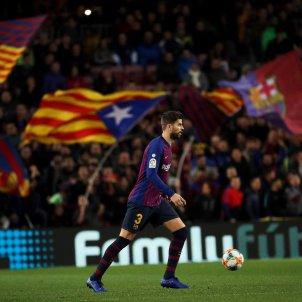 Piqué estelada Barça EFE
