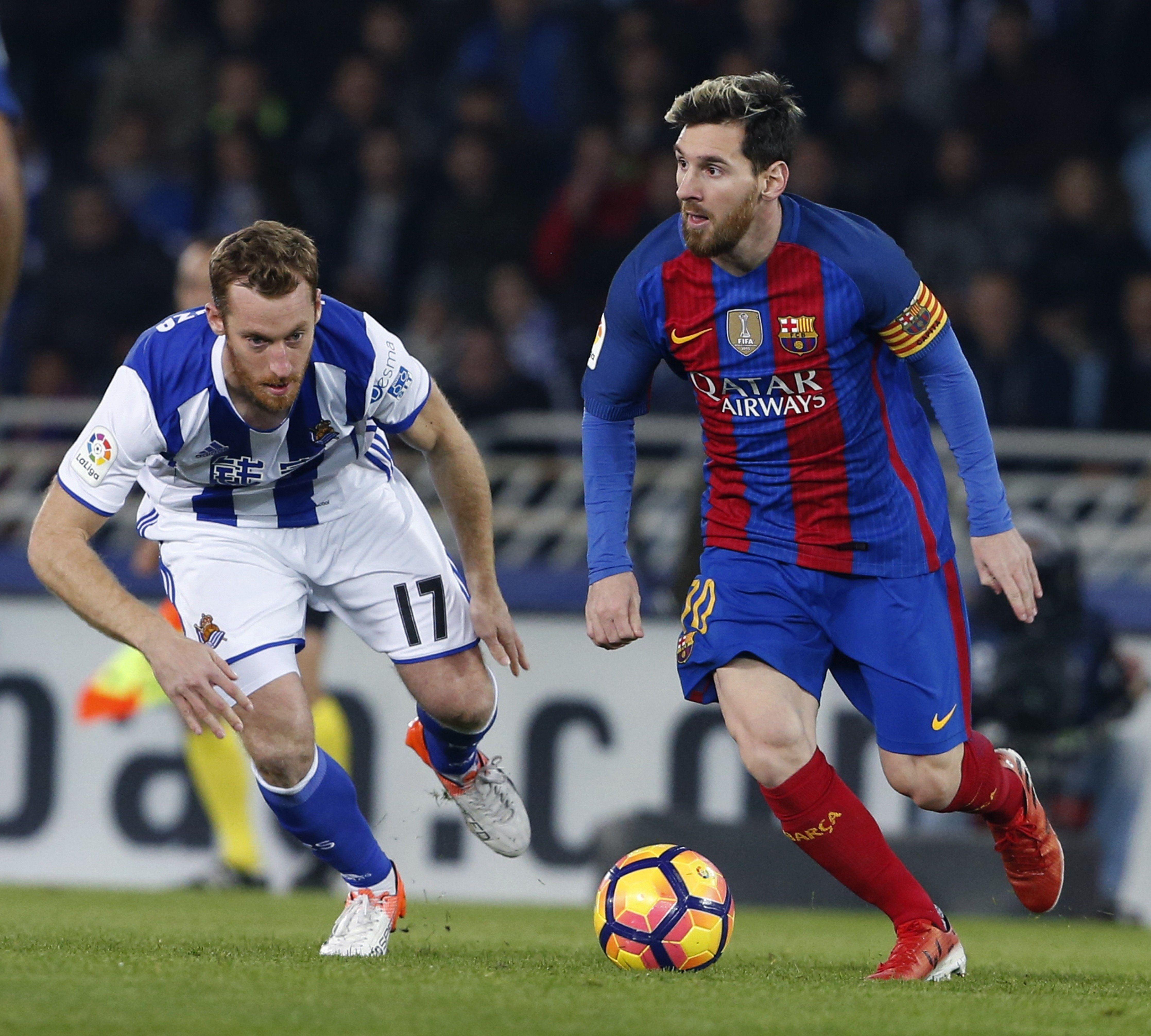 Leo Messi Reial Societat Barça Efe