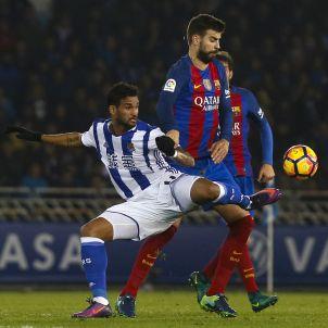Gerard Pique Real Societat Barça EFE