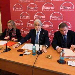 EuropaPress 1890079 CATALUNYA  Fomento del Trabajo pedirá un nuevo decreto al Govern si no llega a un acuerdo con Pimec