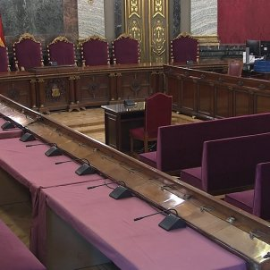 Judici proces Tribunal Suprem   Saló de plens 13   EFE
