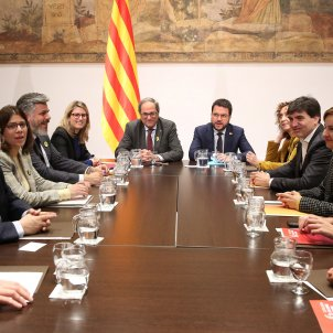 reunió Espai diàleg Generalitat Govern - Jordi Bedmar