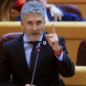 Ministre Fernando Grande-Marlaska Senat - Efe