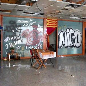 Oficina abandonada Sabadell violacio multiple - ACN