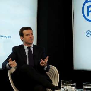 Pablo Casado entrevista Efe febrer 2019