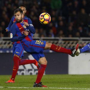 Jordi Alba Reial Societat Barça Efe
