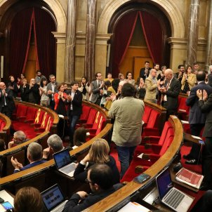 Jenn Díaz ple Parlament - ACN