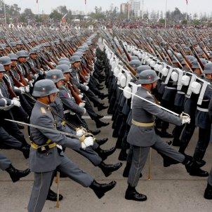 Exèrcit Xile desfilada 2015 (Ministeri de Defensa del Xile)