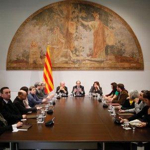Reunió Fórum Cívic Llach Torra Generalitat Sergi Alcàzar