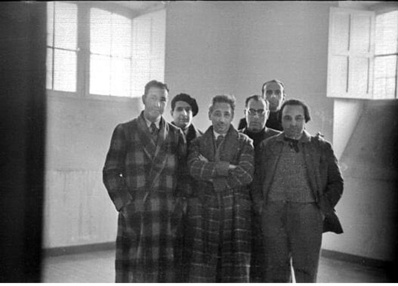 El govern de Catalunya a la Prisión Celular de Madrid. Gener Maig 1935. Font El Nacional