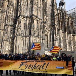 Manifestació ANC Colònia 9febrer - El Nacional