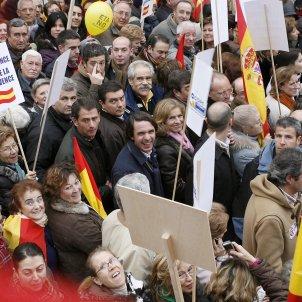 manifestacio aznar eta 2006 efe