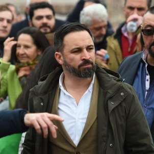 abascal manifestacio Madrid - Efe
