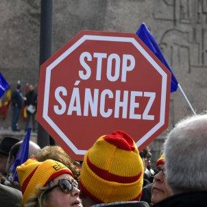Manifestacio Madrid dialeg Catalunya - efe