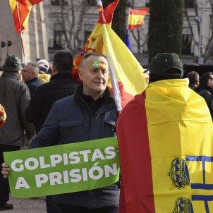 Vox manifestacion Madrid contra  dialogo EFE