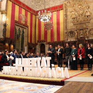 Alcaldes catalans ajuntament Barcelona - ACN