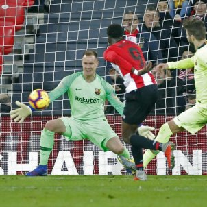 Ter Stegen Williams Pique Athletic Barca EFE